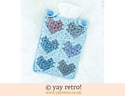 152: Winter Love Crochet Hot Water Bottle Set (£22.00)